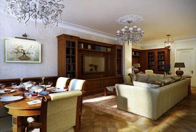 отделка дизайн мансардного этажа дома
