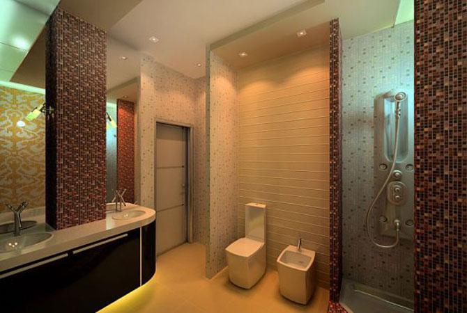 дизайн ванной комнаты пластиковые панели