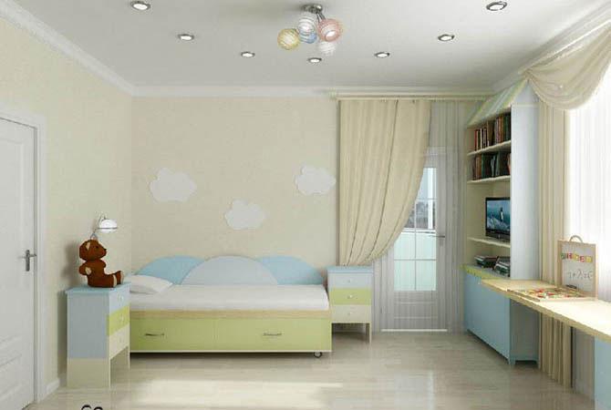 дизайн проект детской комнаты для двух подростков