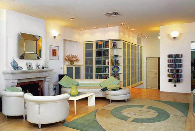 дизайн квартир природные мотивы
