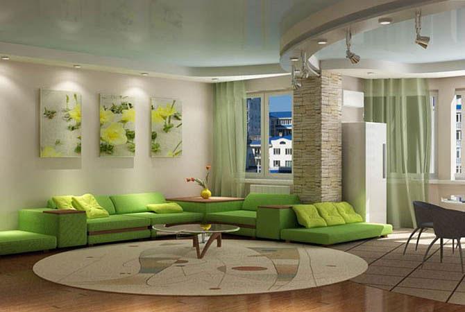 ремонт двухкомнатной квартиры 52кв