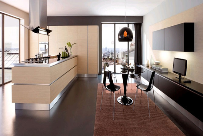 дизайн однокомнатной квартиры в стиле минимализма