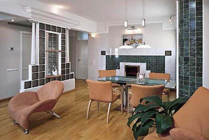 дизайн внутренней отделки квартиры фото