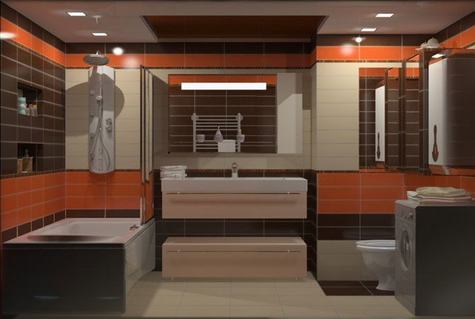 дизайн ванной комнаты в китайском стиле фото