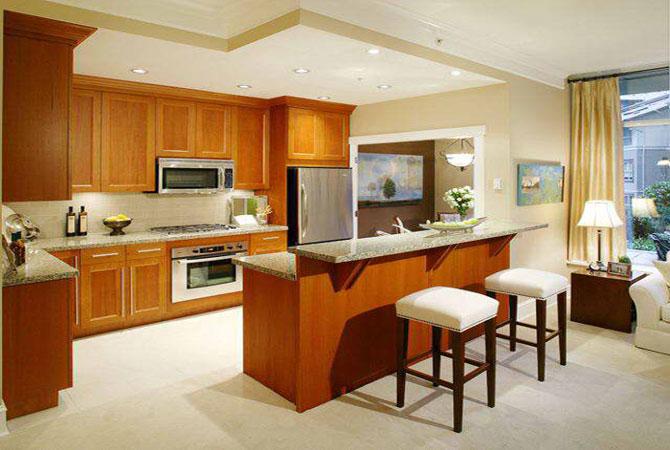 интерьер кухни в стандартной квартире в актобе