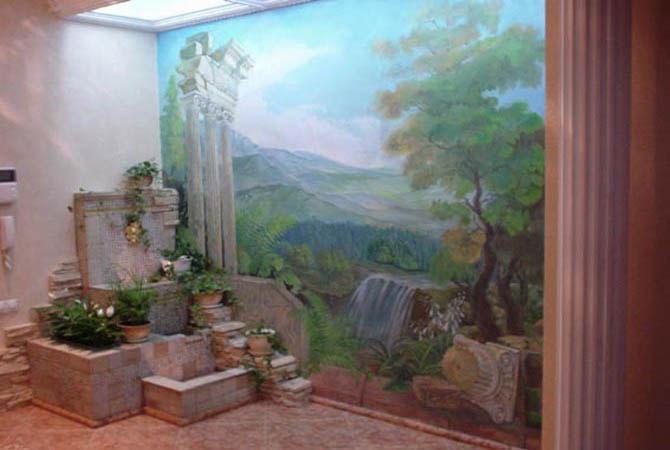 внутренний интерьер дачного дома
