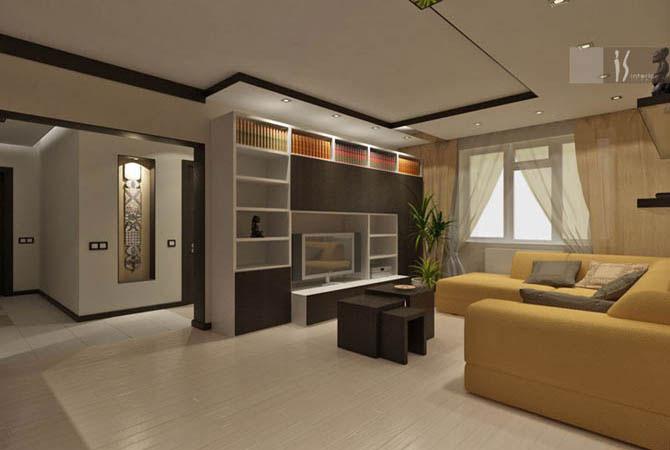 дизайн квартиры малой площади