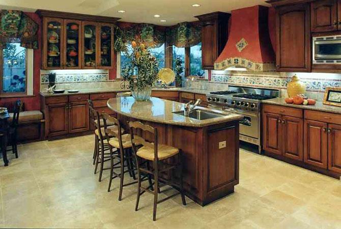 дизайн кухни в квартире однокомнатной серии 121т