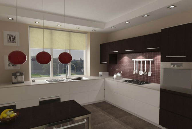 дизайн интерьера квартиры из 3-х комнат