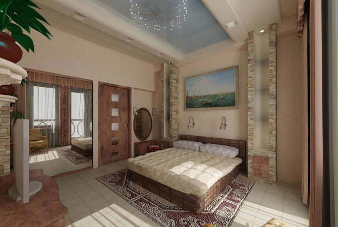 интерьер жилой комнаты по хен шую