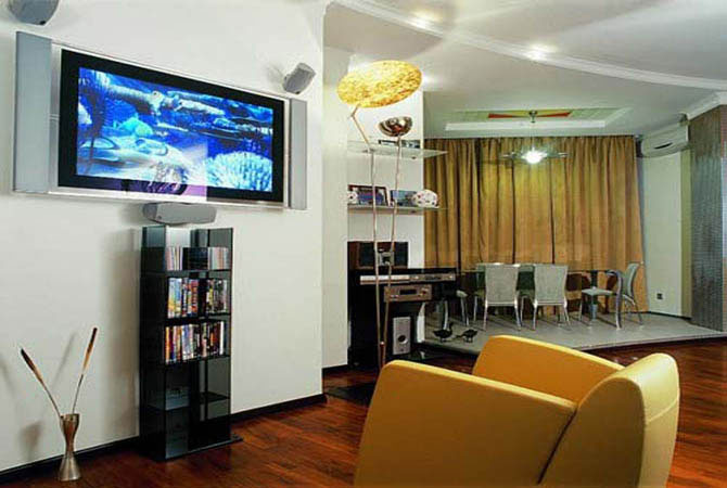 молодежный дизайн интерьеров комнат