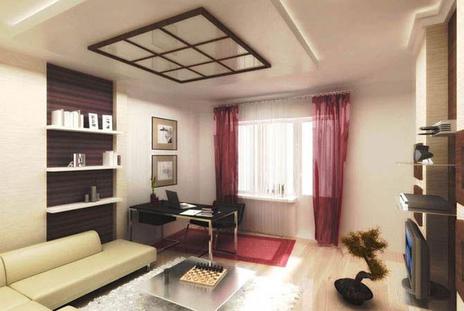 дизайн комнаты в желтой гамме