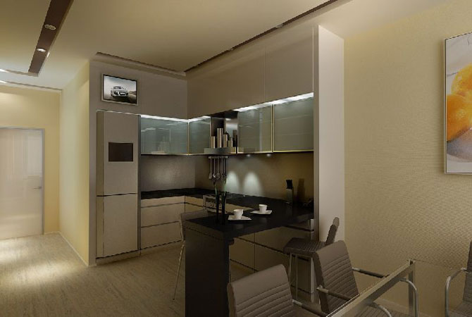 интерьер однокомнатной квартиры в