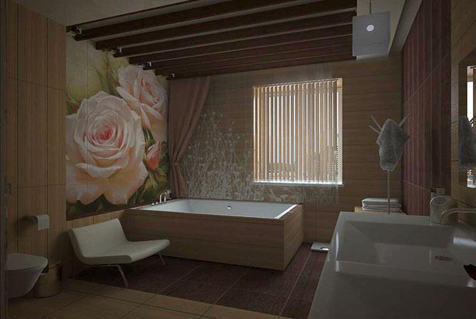 ванная комната примеры ремонта