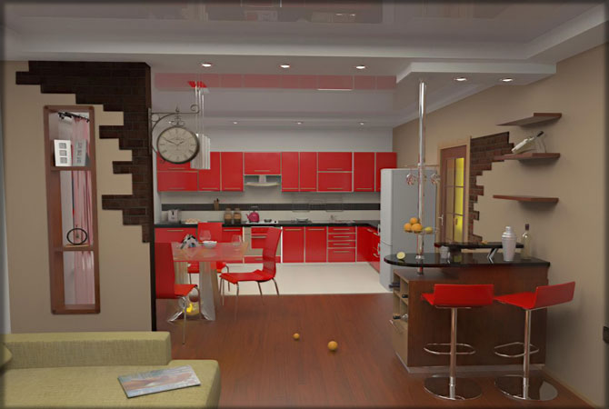ремонт дизайн 2 комнатных квартир