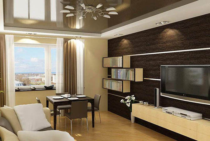 ремонт и описание в 2 комнатной квартире
