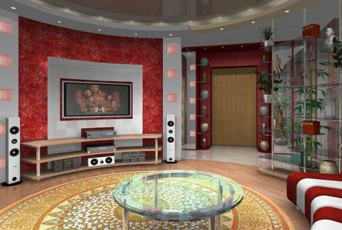 дизайны комнат d стиле поп арт