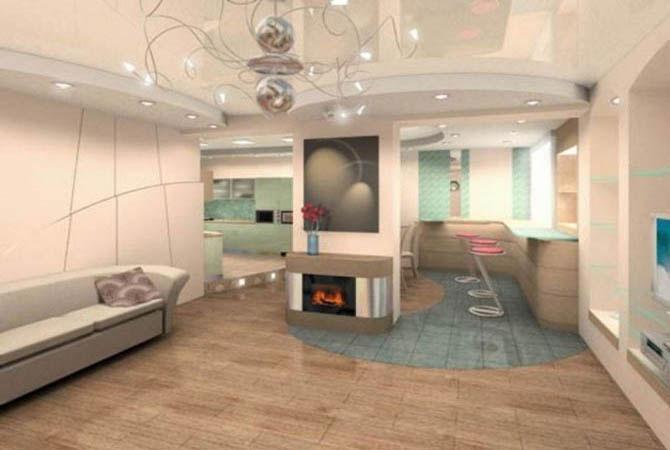 дизайн стандартной двухкомнатой квартиры