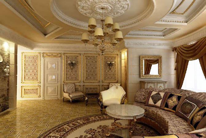 дизайн шторы в комнате с персиковыми стенами
