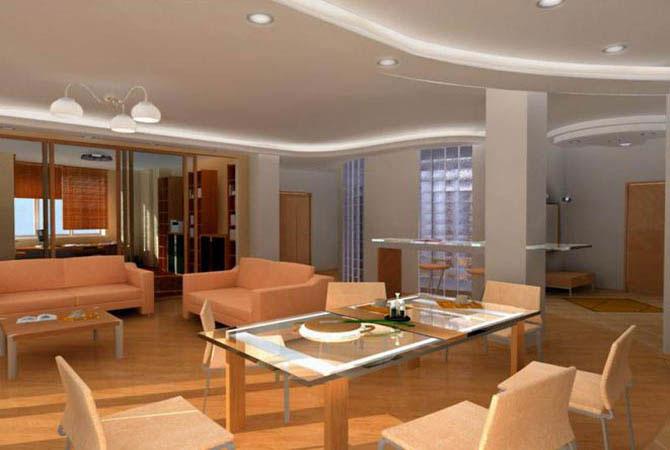 дизайн интерьера спальни-комнаты фото