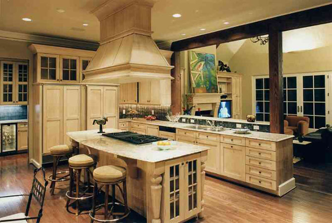 дизайн комнат деревянного дома