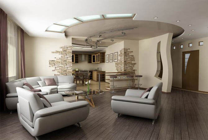дизайн обоев в интерьере квартир