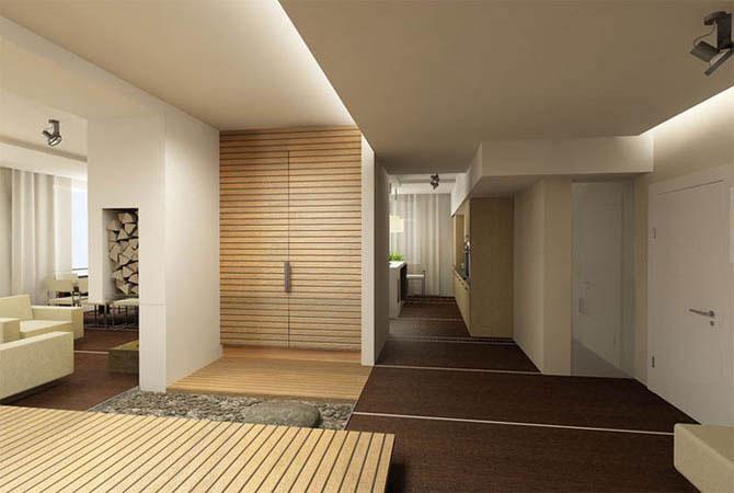 дизайн потолка из гипсокартона в квартире