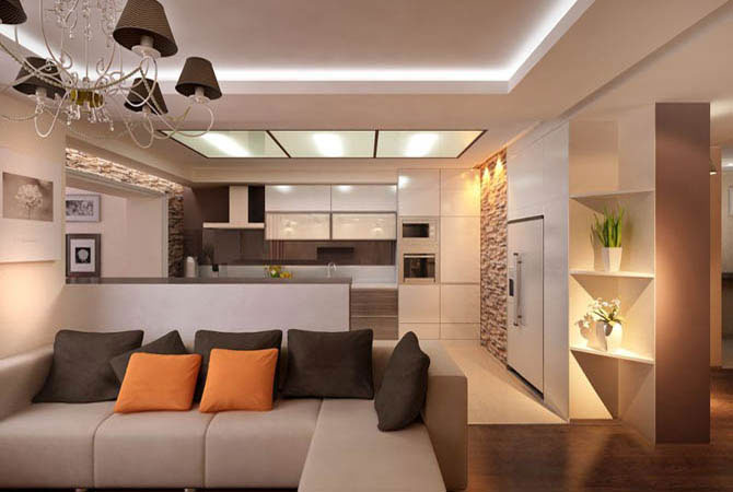 угловая перспектива правила построения интерьера комнаты