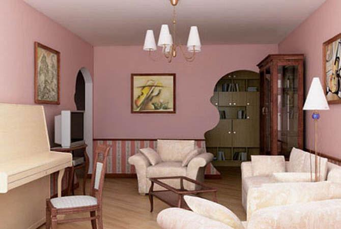 дизайн 3-х комнатной квартиры 60м