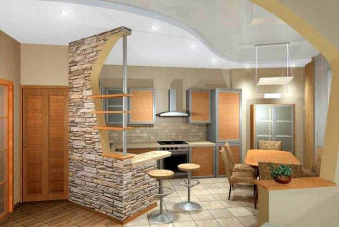 ремонт квартир отделка стен разными материалами