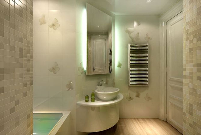 дизайн 1-комнатной квартиры с эркером
