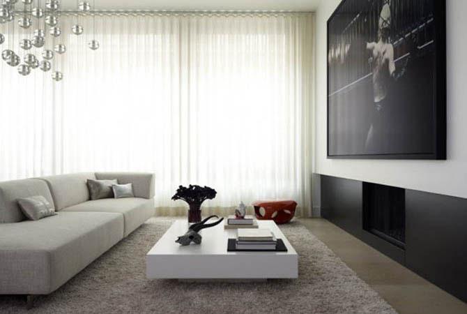 дизайн штор в квартире