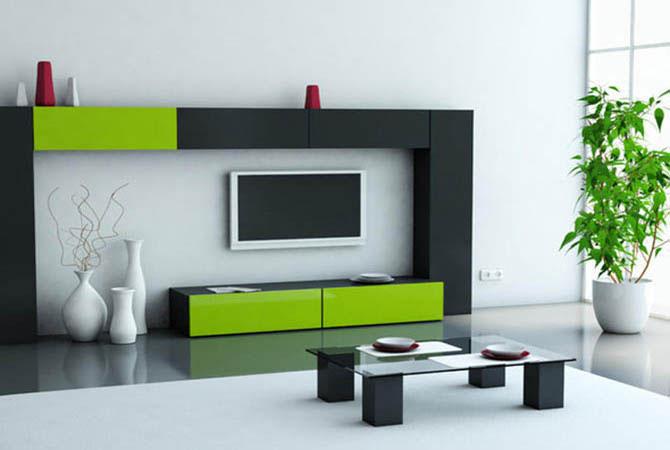 дизайн однокомнатной квартиры зал