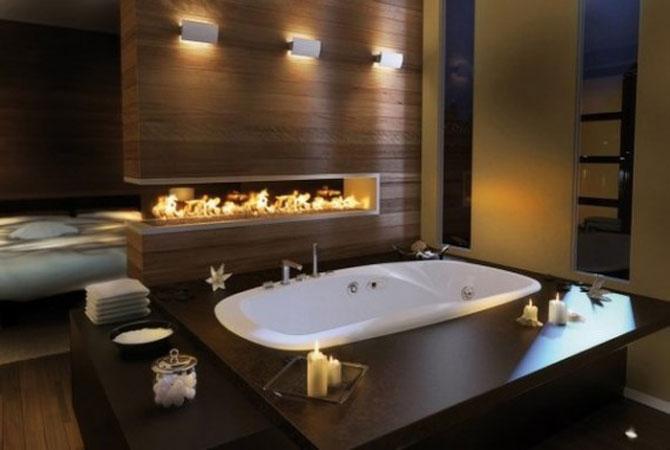 отделка деревянной ванной комнаты пластиком