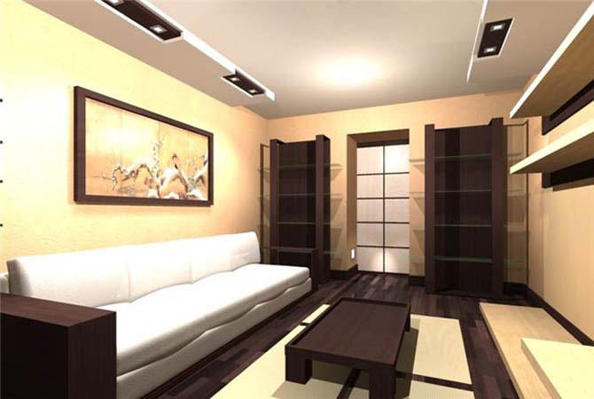 фотографии современного дизайна 14 метровой жилой комнаты