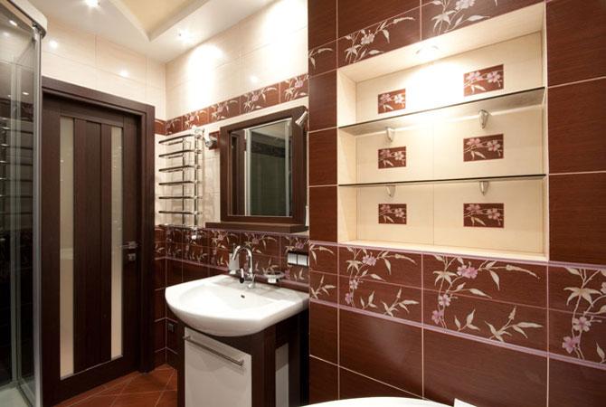 проект дизайна стен коридора в квартире