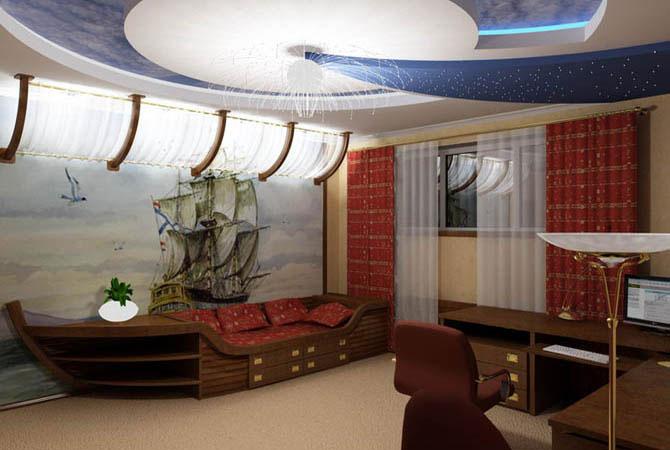 дизайн гостинной комнаты в коричнево белом цвете