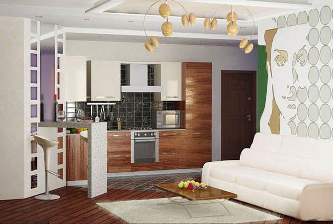 современная отделка квартиры фото однокомнатная квартира