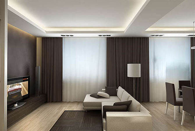 дизайн квартиры в проекте 3d