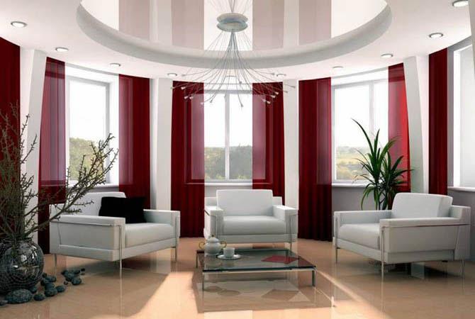 дизайн интеръера гостинной комнаты 18 квм