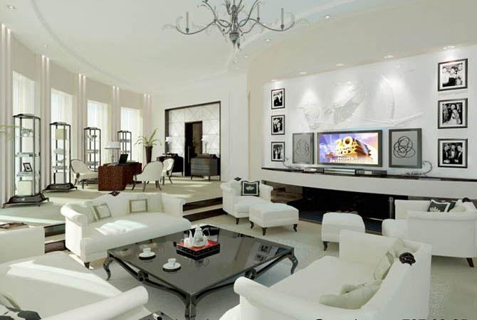 дизайн проект четырехкомнатной квартиры и 155