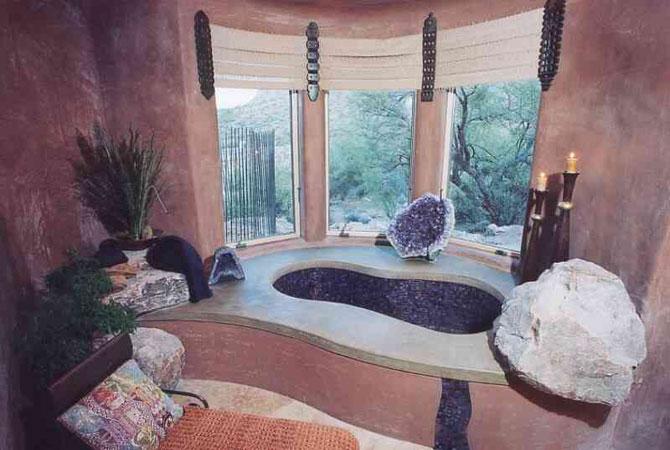 внутренная отделка и интерьеры деревянного дома