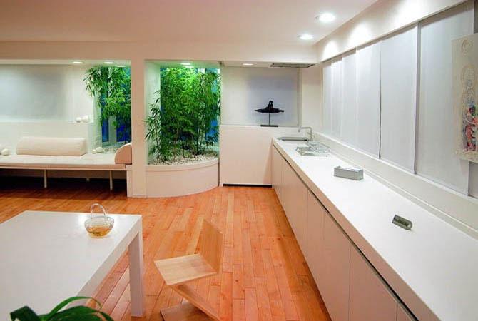 фото натяжные потолки ванная комната интерьер
