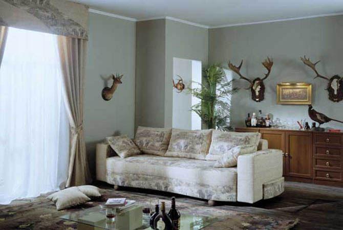 дизайн комнат с камином